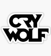 Crywolf Logo  Sticker