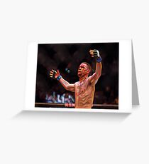 NATE DIAZ UFC202 Greeting Card