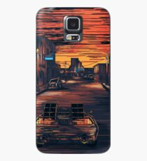 Back To The Future Version 2 Case/Skin for Samsung Galaxy