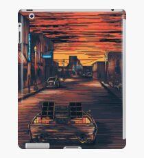 Back To The Future Version 2 iPad Case/Skin