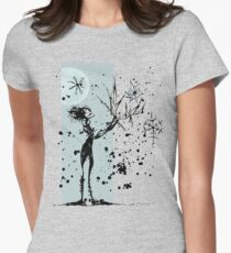 Ink Dance Womens Fitted T-Shirt