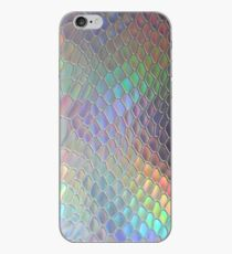 Holographic croc iPhone Case