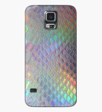 Funda/vinilo para Samsung Galaxy Cocodrilo holográfico