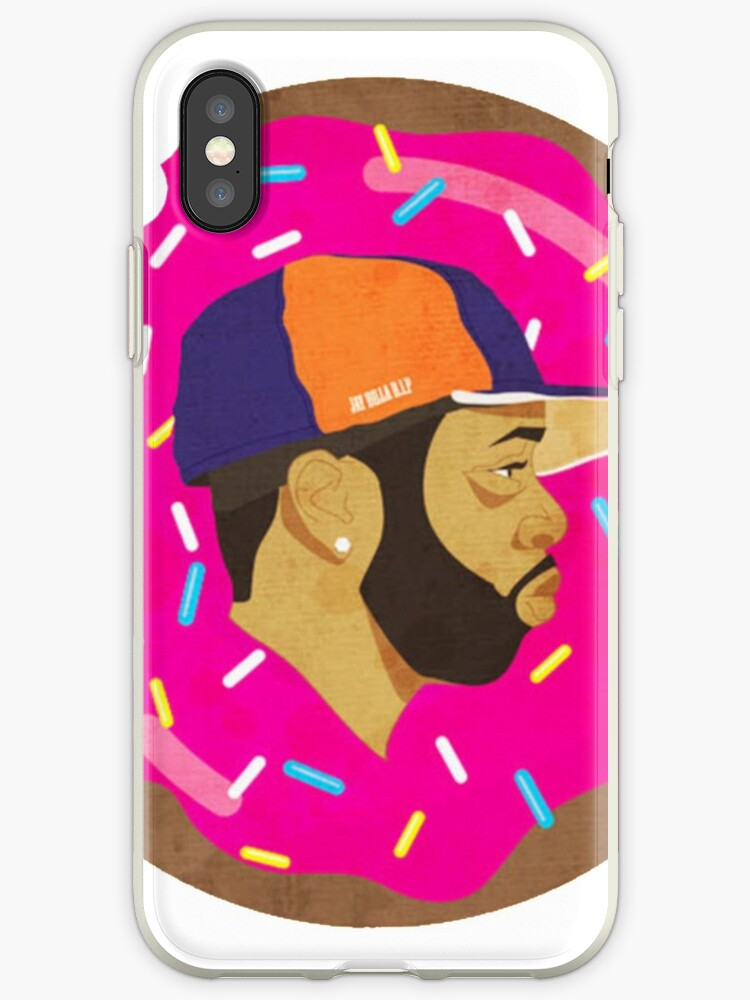 'J Dilla Donut' iPhone Case by Shambles26