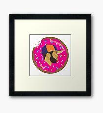 J Dilla Donut Framed Print
