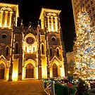 Christmas in San Antonio, TX  by Eric Tsai