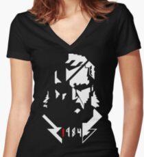 !984 Women's Fitted V-Neck T-Shirt