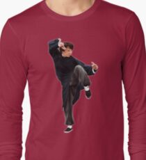 CREATING !! JACKIE CHAN Long Sleeve T-Shirt