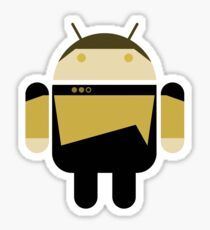 Data Android Logo Sticker