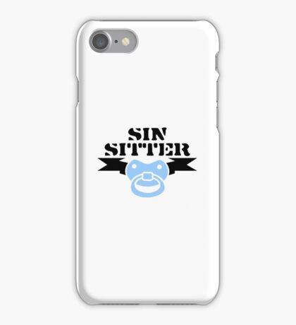 Sin Sitter VRS2 iPhone Case/Skin