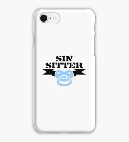 Sin Sitter VRS2 iPhone Case/Skin