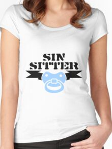 Sin Sitter VRS2 Women's Fitted Scoop T-Shirt