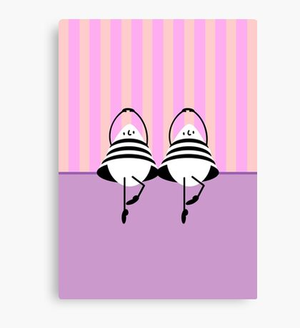 Ballet: Egg Dance VRS2 Canvas Print