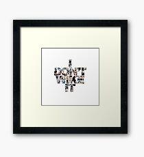 I don't wike it - Chris Evans Framed Print