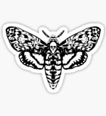 Death's Head Moth Sticker
