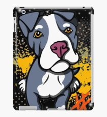 Blue Pit Bull Pup  iPad Case/Skin