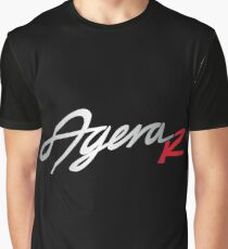 Agera R Black | Full Graphic T-Shirt
