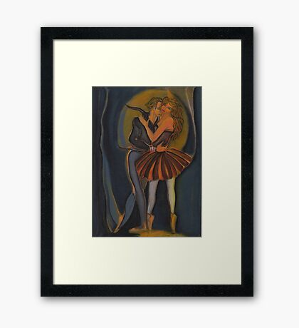 Romeo & Juliet Pas de Deux V1 Framed Print