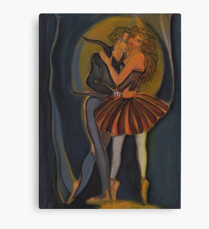 Romeo & Juliet Pas de Deux V1 Canvas Print