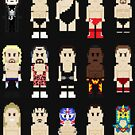 8-Bit Wrestlers Down South by AlCreed
