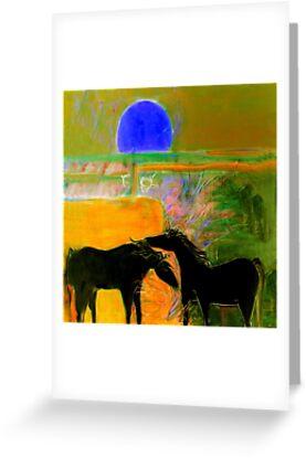 Blue Sun Valley by Karen Gingell