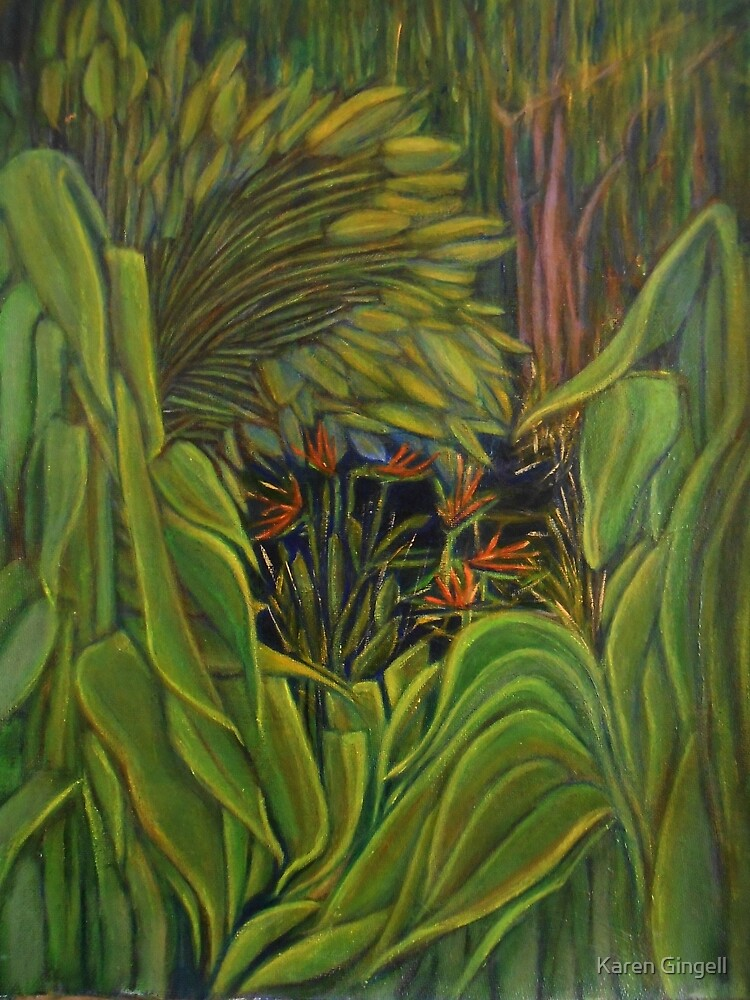 Touch of Paradise Version2  by Karen Gingell