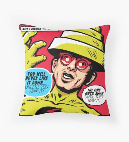 Post-Punk Reverse Throw Pillow