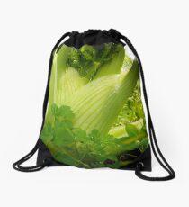 Fantastic Florence Fennel Drawstring Bag