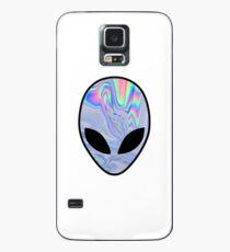 Funda/vinilo para Samsung Galaxy holograma alien