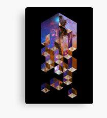 Soluble Cuboid Canvas Print