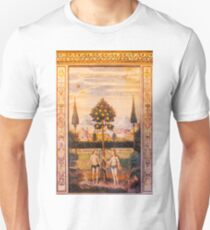 Adam and Eve Oil Painting T-Shirt