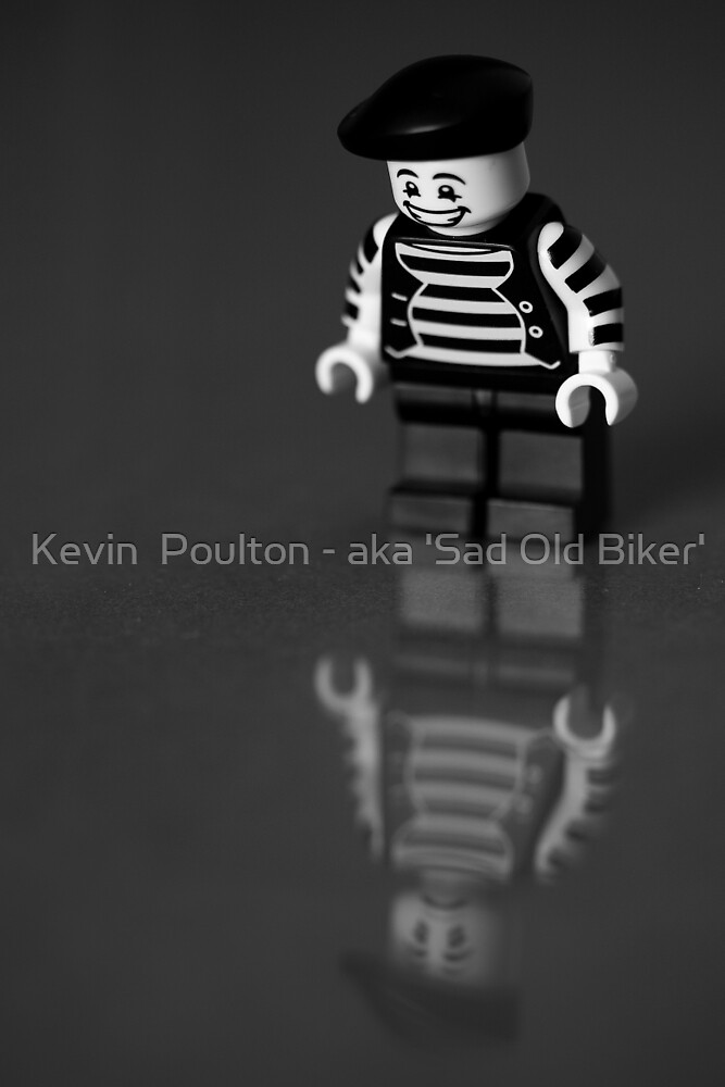 Happy on the outside...  by Kevin  Poulton - aka 'Sad Old Biker'