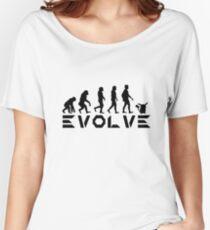 Evolution of Pokemon - Pikachu Women's Relaxed Fit T-Shirt