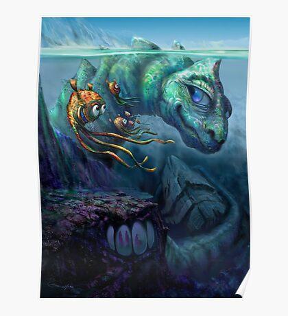 Sea Creature Poster