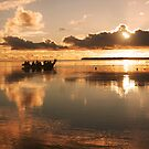Sunset Departure - Pakin Atoll, Micronesia by Alex Zuccarelli