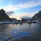 Lofoten Islands - Reine port - Norway . Anno Domini 2011. © Dr.Andrzej Goszcz. by © Andrzej Goszcz,M.D. Ph.D