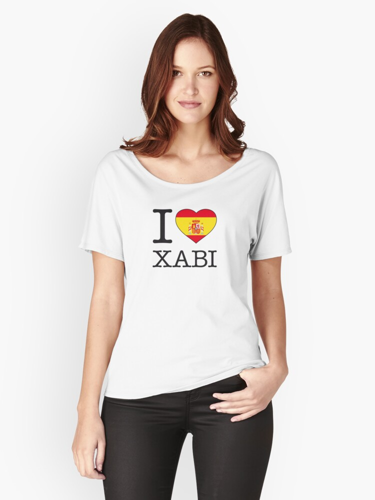 I ♥ XABI Women's Relaxed Fit T-Shirt Front