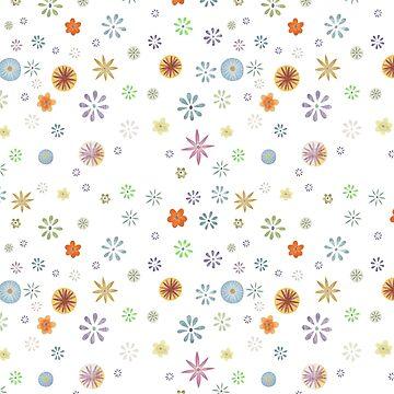 Flower Spray Mini - White  by DionisiSandra