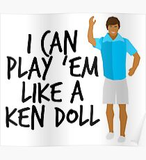 Ken Doll Heart Attack Poster