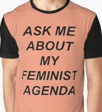 Bobbi Morse - Ask me about my feminist agenda Graphic T-Shirt