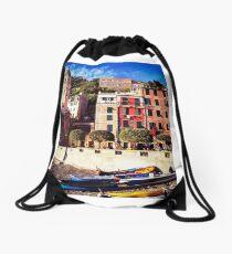 Vernazza, Cinque Terre Drawstring Bag