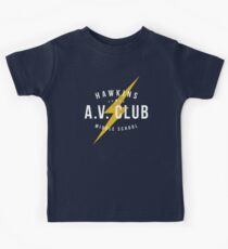 Hawkins A.V. Club (aged look) Kids Clothes