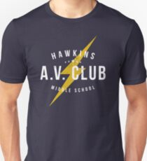 Hawkins A.V. Club (aged look) T-Shirt