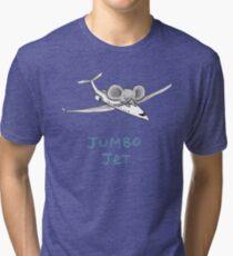 Jumbo Jet Tri-blend T-Shirt