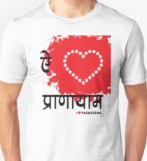 I LUV PRANAYAMA Unisex T-Shirt