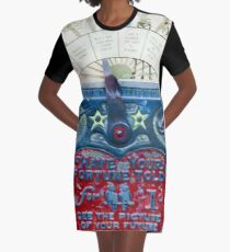 See The Picture Of Your Future Graphic T-Shirt Dress