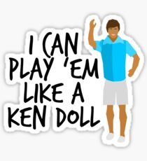 Ken Doll Heart Attack Sticker