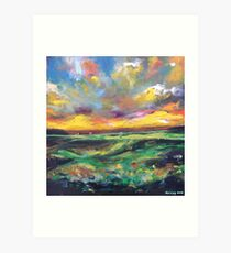 The Old Course, St Andrews Art Print