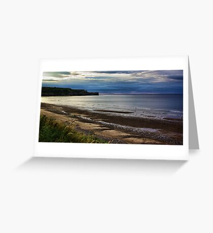 Sunset on the Coast Greeting Card
