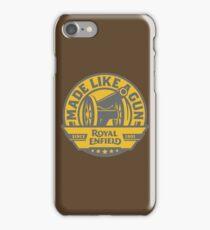 Royal Enfield - Made Like A Gun iPhone Case/Skin
